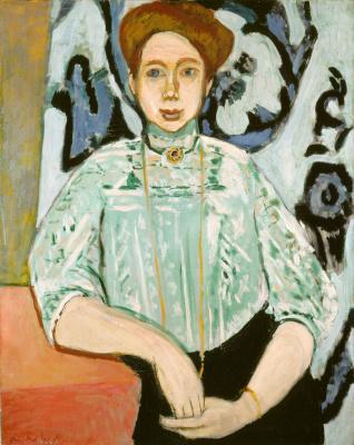 Henri Matisse. Portrait Of Greta Moll