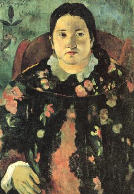 Paul Gauguin. Portrait Of Suzanne Bambridge