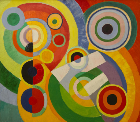Robert Delaunay. Rhythm. The joy of life