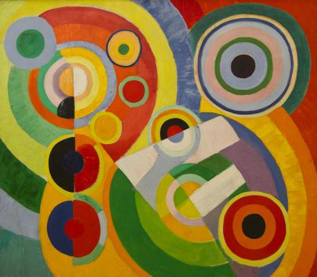 Robert Delaunay. Rhythm. The joy of life