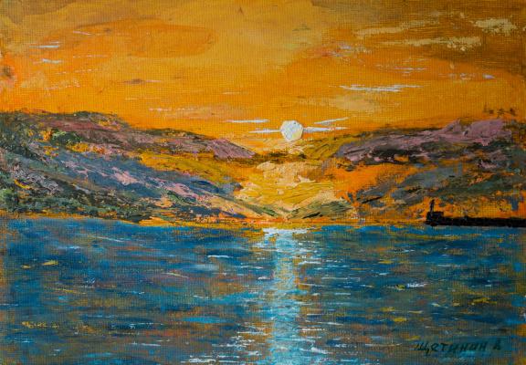 Vladimir Schetinin. Lavender Bay