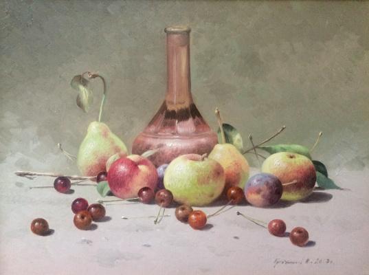 Vasily Ivanovich Gribennikov. Still life