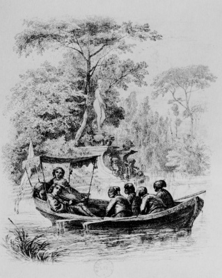 Charles-Francois Daubigny. The river in the Park