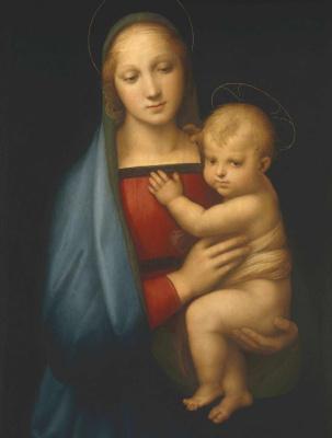 Raphael Santi. Madonna Granduca