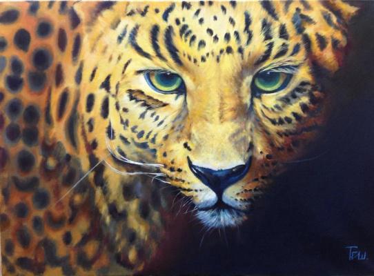 """Natalia Vladimirovna Ilyina. """"Leopard"""""""