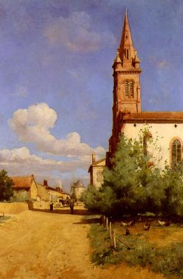 Джозеф Гарибальди. Деревня в Провансе