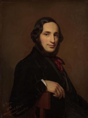 Alexey Vasilyevich Tyranov. Portrait Of Ivan Aivazovsky