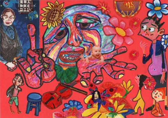 Filip colossus. 20 and 21 century schizoid world.
