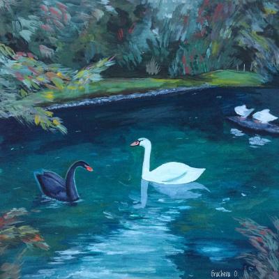Oksana Gracheva. Southern Swans