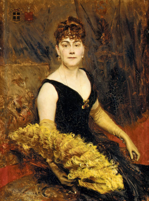 Giovanni Boldini. Portrait of Mrs. Warren-Cram (Ella Brooks Carter)