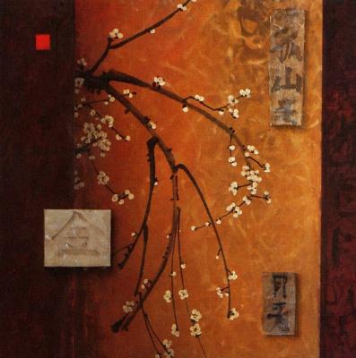 Дон Легер. Восточные цветы