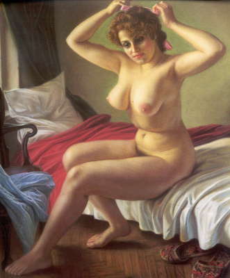 Alexander The maksovich Shilov. Nude