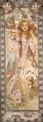 Alphonse Mucha. Maude Adams in the role of Joan of Arc