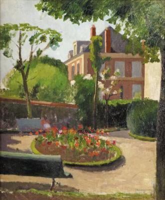 Henri Manguin. In the garden