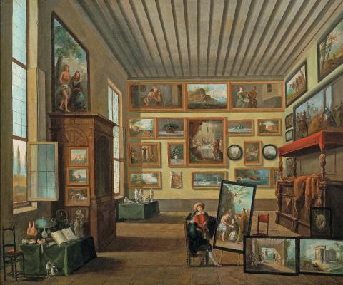 Giuseppe Bernardino Bison. Кабинет коллекционера