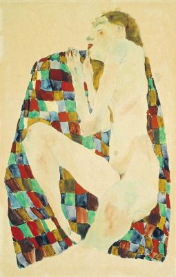 Egon Schiele. Sleeping Nude
