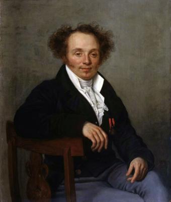 Alexander Grigorievich Varnek. Portrait of an unknown with a medal. (Portrait of IG Butovsky) Rostov Regional Museum of Fine Arts
