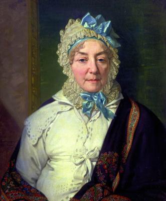Vladimir Lukich Borovikovsky. Portrait Of Catherine Ancharovoj.