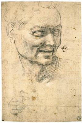 Michelangelo Buonarroti. Cheerful man