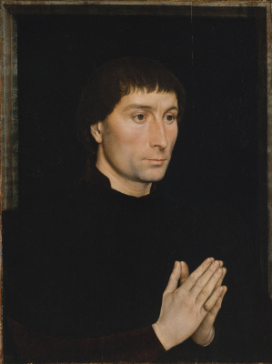 Hans Memling. Portrait Of Tommaso Portinari