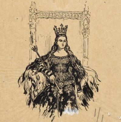 Ян Матейко. Королева Ядвига