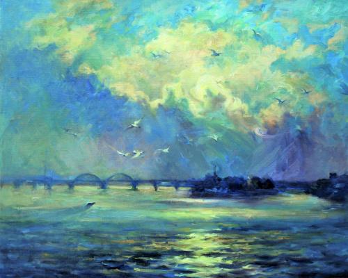 Александр Владимирович Кусенко. Dawn on the Dnieper