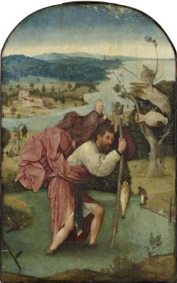 Hieronymus Bosch. Saint Christopher
