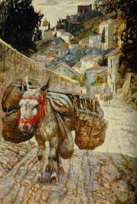 Isaac Brodsky. Donkey. Grenada