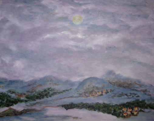 Rita Arkadievna Beckman. Lilac fog