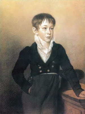 Orest Adamovich Kiprensky. Portrait of an unknown boy