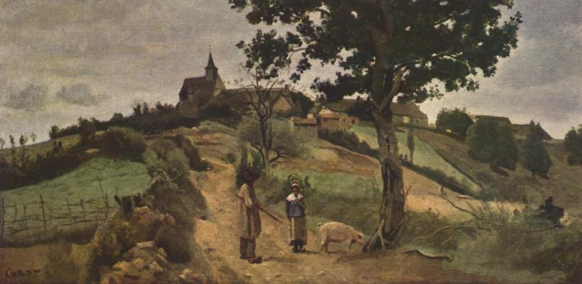 Camille Corot. Saint-Andre-en-Morvan