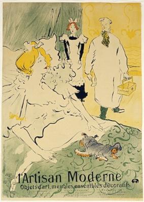 Henri de Toulouse-Lautrec. L'Artisan Moderne (poster)