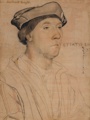 Hans Holbein The Younger. Portrait of Sir Richard Southwell