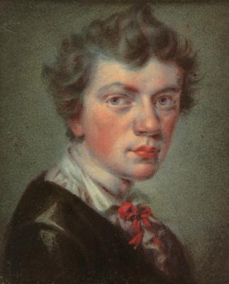 Valentine Mel'chiorovich Vankovich. Self portrait. 1820