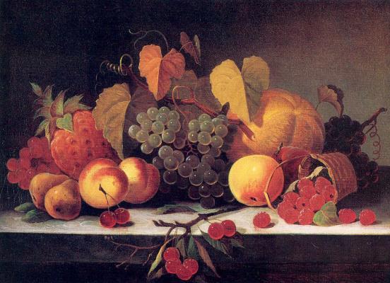 Мэри Джейн Пил. Натюрморт с виноградом