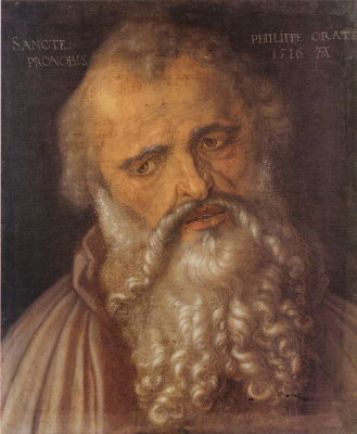 Albrecht Durer. The Apostle Philip