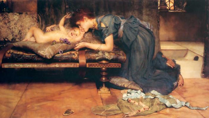 Alma-Tadema Lawrence. An Earthly Paradise