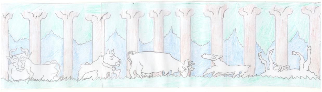 Procopius Merulla. Cows