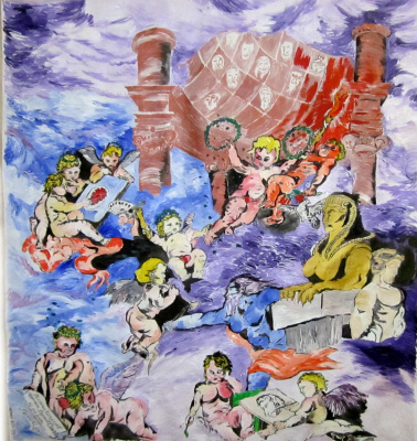 "Дмитрий Юрьевич Буянов. The Allegory Of The ""Genius Of Arts"""