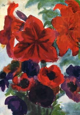 Эмиль Нольде. Цветы