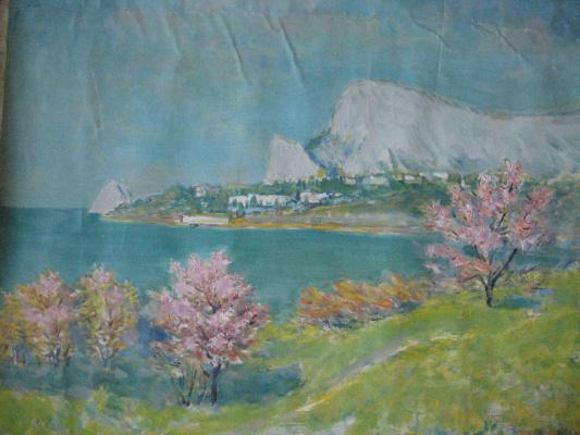 Ivan Andreevich Panteleev. Simeiz. Mount Cat.