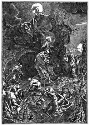 Pieter Bruegel The Elder. The Resurrection Of Christ
