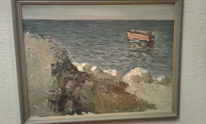 Этюд море