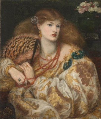 Dante Gabriel Rossetti. Monna Bath