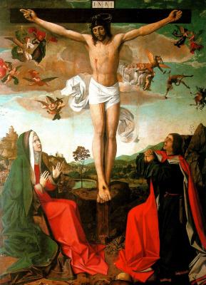 Jyussé Lifehorix. The crucifixion