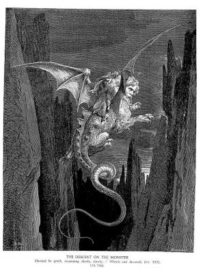 Paul Gustave Dore. Monster