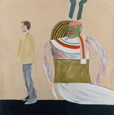 David Hockney. People in the Museum