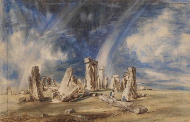 John Constable. Stonehenge