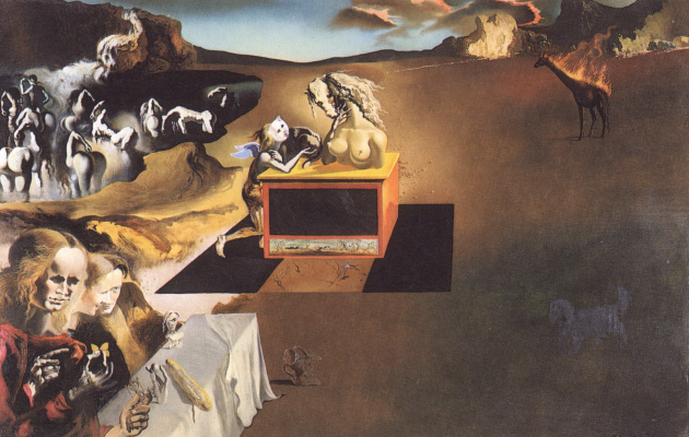 Salvador Dali. The creation of monsters
