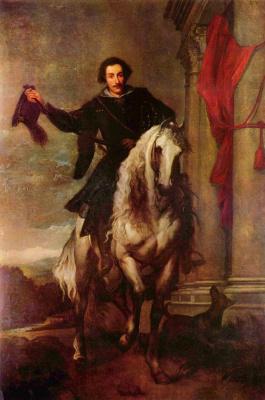 Антонис ван Дейк. Портрет маркиза Антонио Джулио Бриньоле-Сале